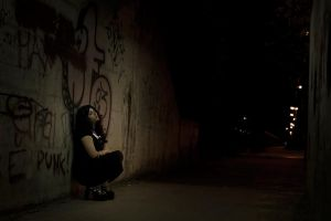 The Disturbing Presence - The Quiet Tunnel by Lady-Spitfire