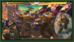Sagat The Merc Final Download by MaesterLee