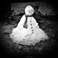 Snowman by MarinaCoric