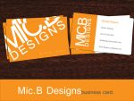 Mic.BDesigns Business Card by MicBDesigns