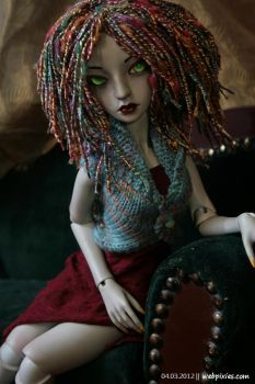 Lounging Lenore 2 by pervyfaerie