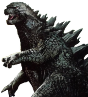 Godzilla 2014: Promotional Design by sonichedgehog2