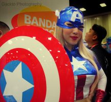 Captain America Cosplay by gacktstream