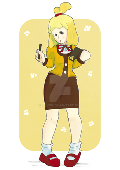 Isabelle by Leongangar