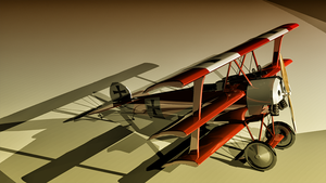 Fokker Dr.I by sudro