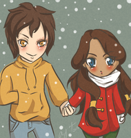 Zutara: You keep me warm. by sadista0907