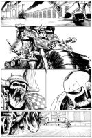 The Duel - inks 3 by shaungardiner
