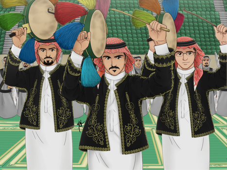 Saudi Traditional Dance by KIMADRID