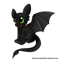 Little Toothless by MariobrosYaoiFan12