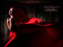Seductress in Red by SuzieKatz