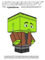 Cubeecraft - Frankenstein by CyberDrone