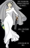 Another kickass bride... by TastingCockroaches