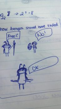 How the Avengers Should Have Ended. by yinyangbabe256