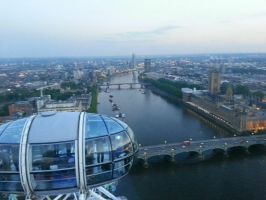 View from the london eye by melody1720
