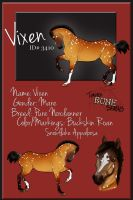 3410 TBS Vixen SOLD by s1088