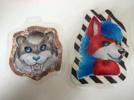 Finally got my badges laminated! by blizyrockets