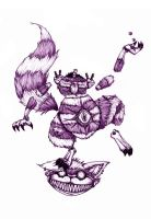 Cheshire Cat by Grimor-san