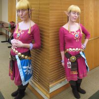 Skyloft Zelda Cosplay ASL 2013 by Sarinilli