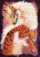 Acrylic Tigerthing by Firequill