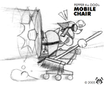 "Pepper's ""Mobile Chair"" by MalamiteLtd"