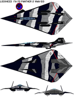FA-70 Panther 2 VMA-513 by bagera3005