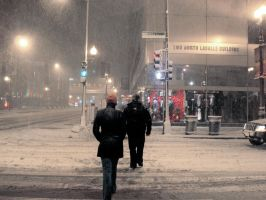 Snowday in Chicago by xofox