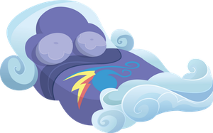Rainbow Dash's Bed by Ocarina0fTimelord