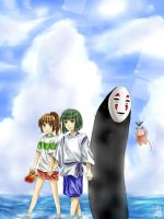 Spirited Away - The Way by ivoryneva