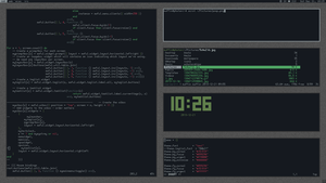 AwesomeWM - inspired by hal-ullr by theloonert