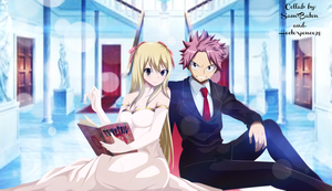 Natsu and Lucy collab by Hectorponce98