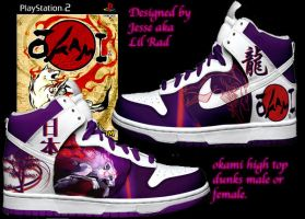 Custom Okami shoes Ammy by LilRad