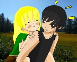 lol moment Melody and Yasuo by Mello-chan91