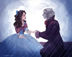 Rumbelle  - The proposal by snoprincess