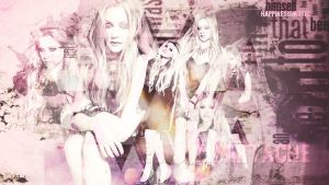 Avril Lavigne wallpaper 04 by HappinessIsMusic