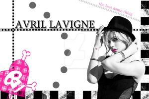 Avril Lavigne Wallpaper_4 by bellapester