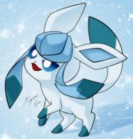 Eevee - Glaceon by Shinta-Girl