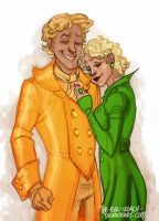 HP - Rita and Gilderoy by the-evil-legacy