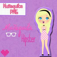Nenita Hipster PNG by sellygomez1