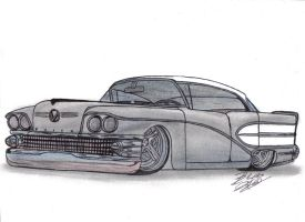 1958 Buick Super Sedan custom by Mister-Lou