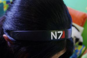 Mass effect hair accessory by lAmikol