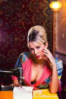 Retro Housewife I by platen