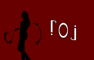 Circus Ambigrams 7: Poi by Henry-Crun