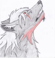 The pain howls on. by NightShadowolf
