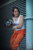 Chell Cosplay - 1 by Millster-Ink
