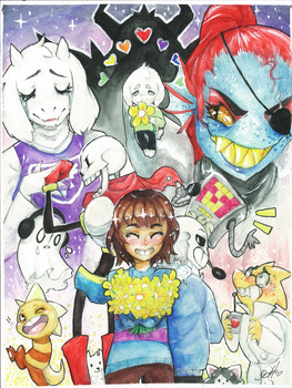Undertale by UglyTree