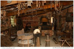 The Old Forge by In-the-picture