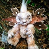 Pippy, the jointed fairy art doll by twyliteskyz