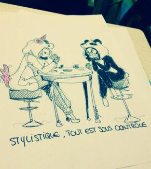 Stylistic, all under control  by Ornisis