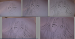 Steps to Tracing an Anime Girl by Flora02