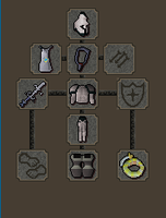 my runescape melee armour by CheekyMonkey404